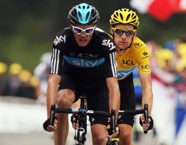 Froome und Wiggins 2012