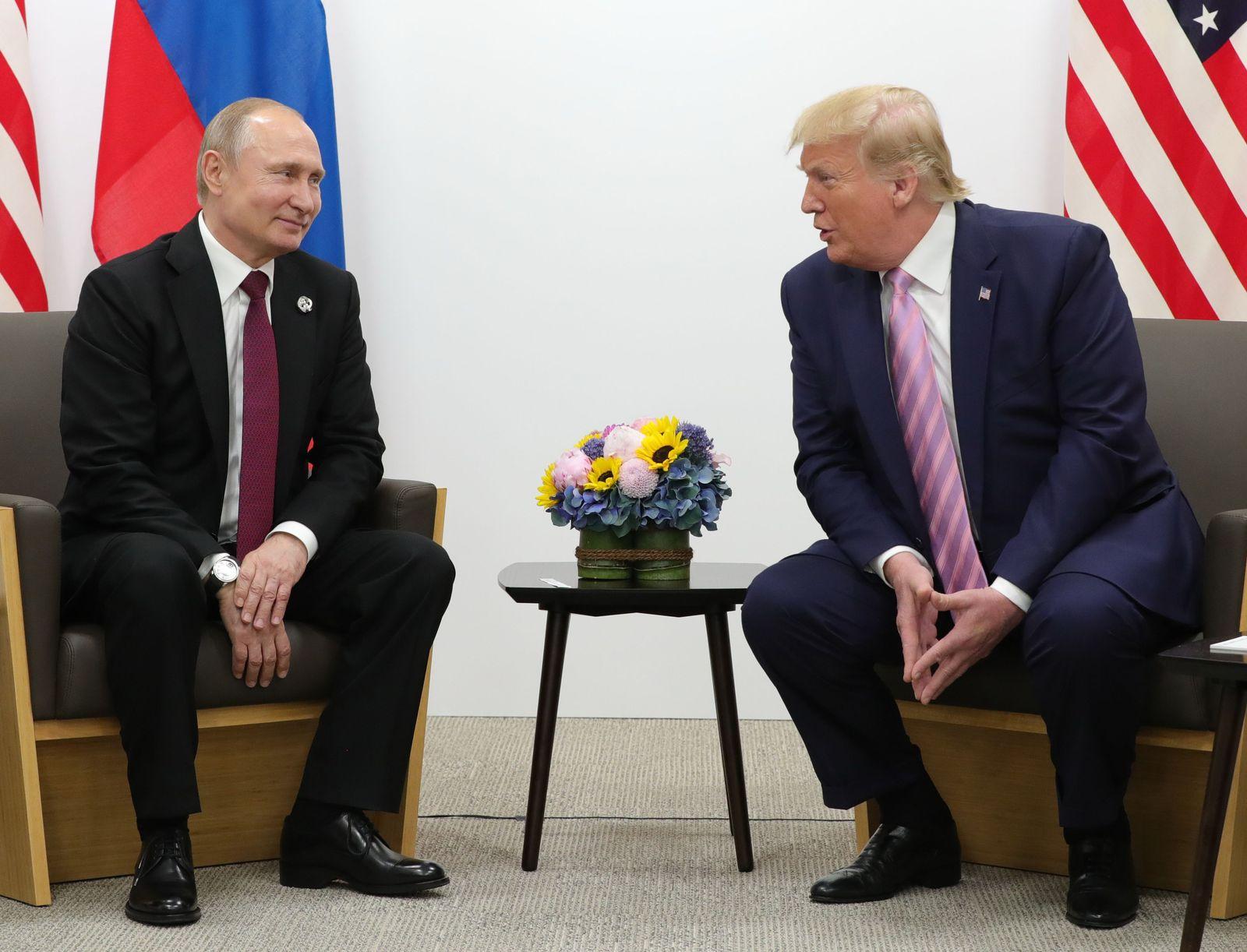 G20/ Osaka/ Putin Trump
