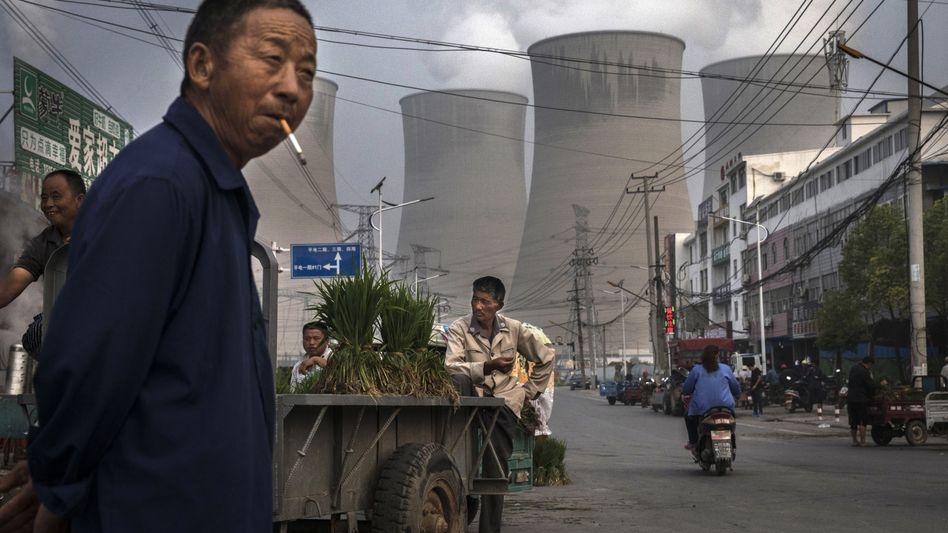 Kohlekraftwerk in China (Archivbild)