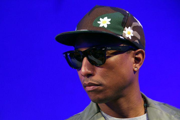 Model, Musiker, Produzent und Hitlieferant: Produzent Pharrell Williams