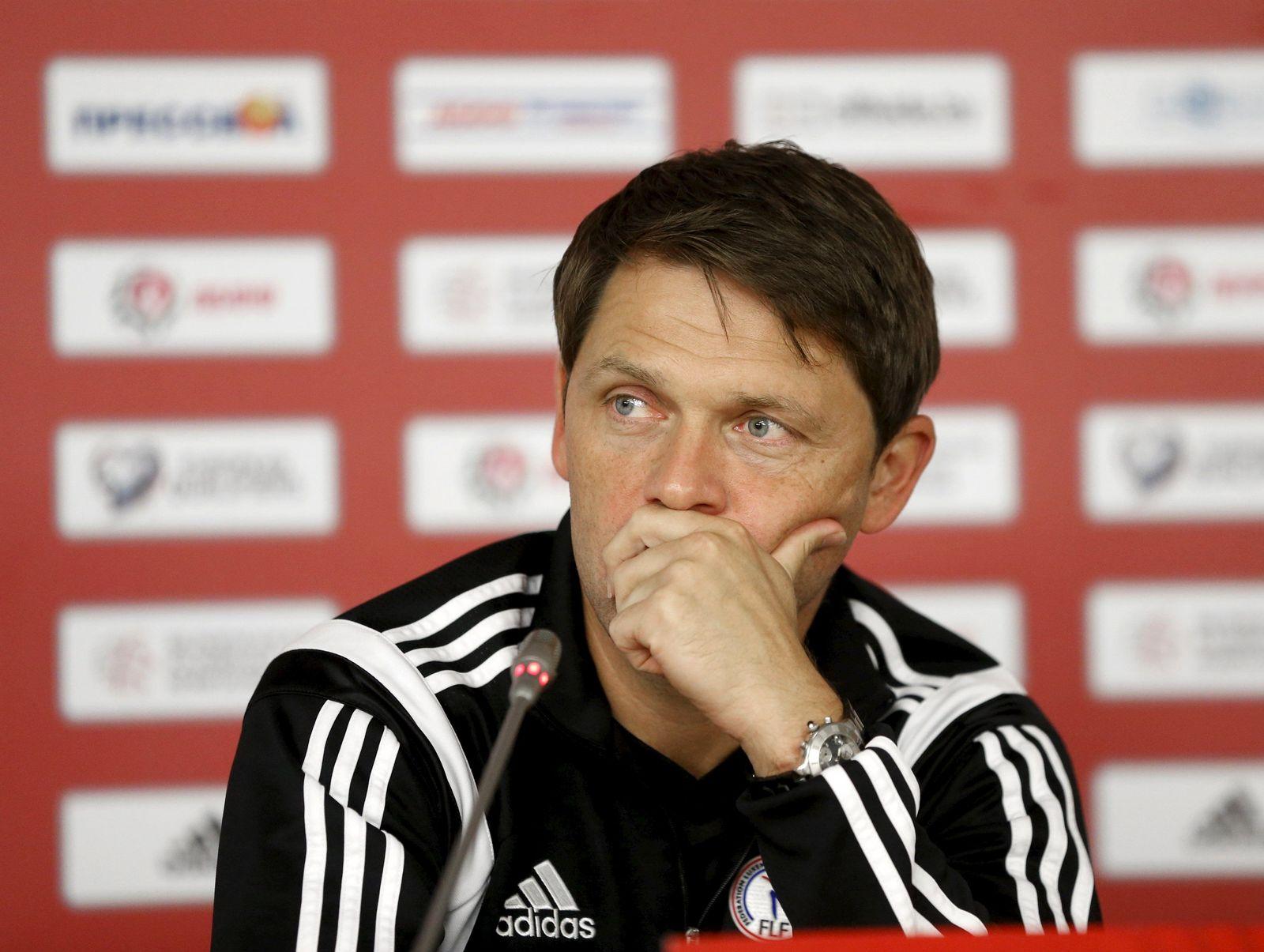 Luxemburg Trainer Luc Holtz