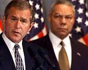 Das Team Bush/ Powell: Bomben auf Bagdad, Spionage-Verwicklungen mit China