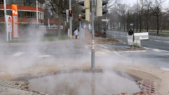 Krater in Deutschland: Wenn die Erde rutscht