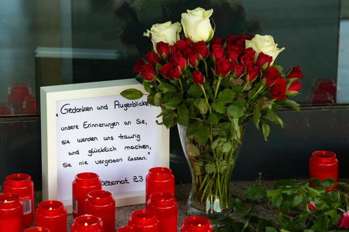 Regierungspräsidium in Kassel: Gedenken an Walter Lübcke