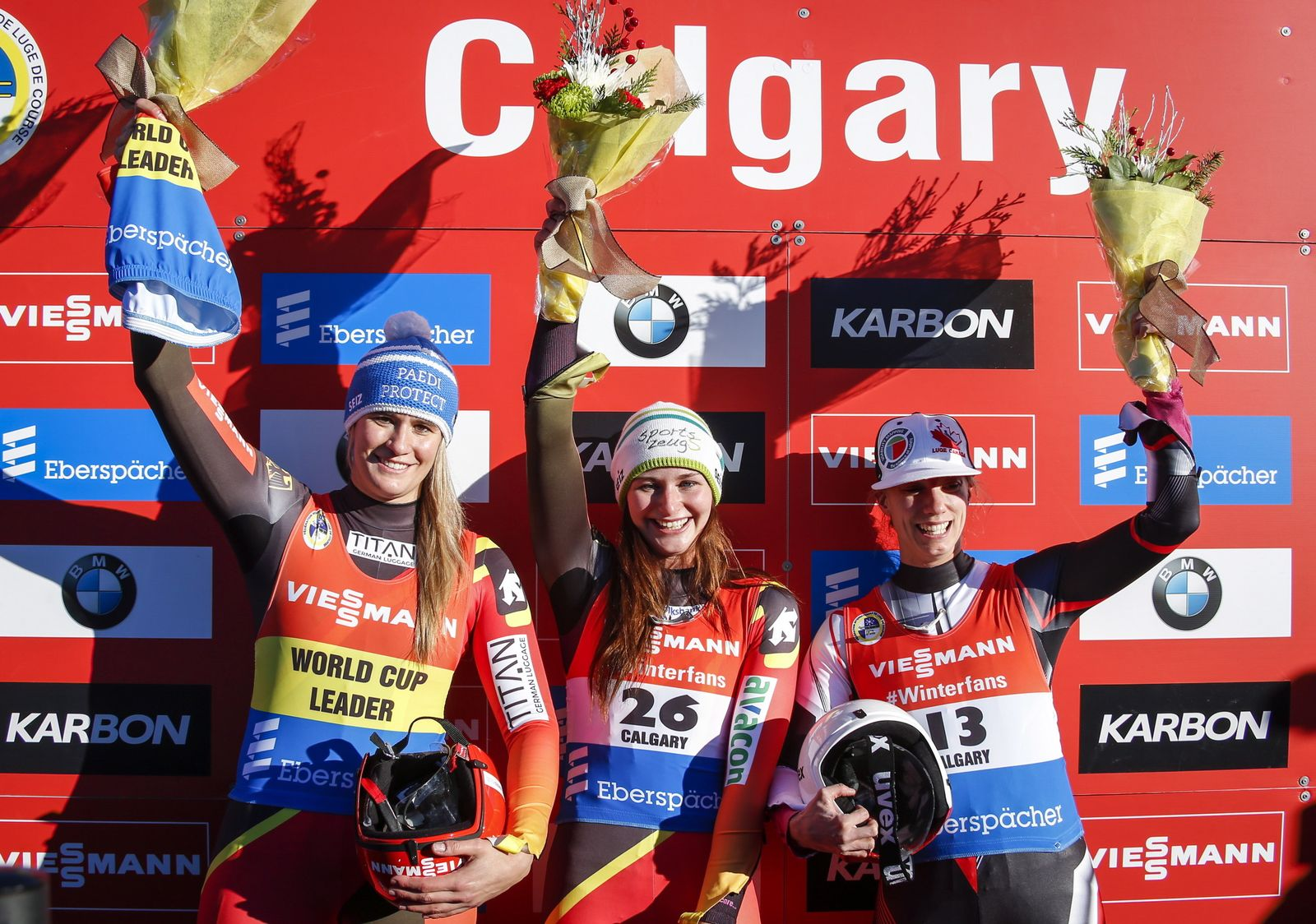 Canada World Cup Luge Women