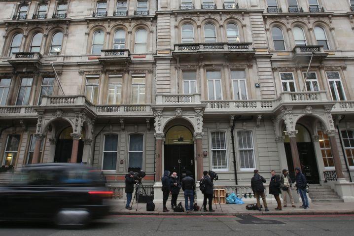 Firmengebäude von Orbis Business Intelligence Ltd in London