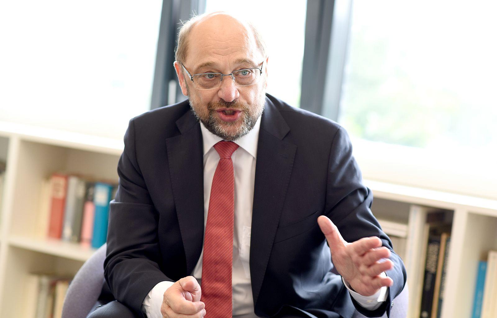 Martin Schulz/ Interview SpOn