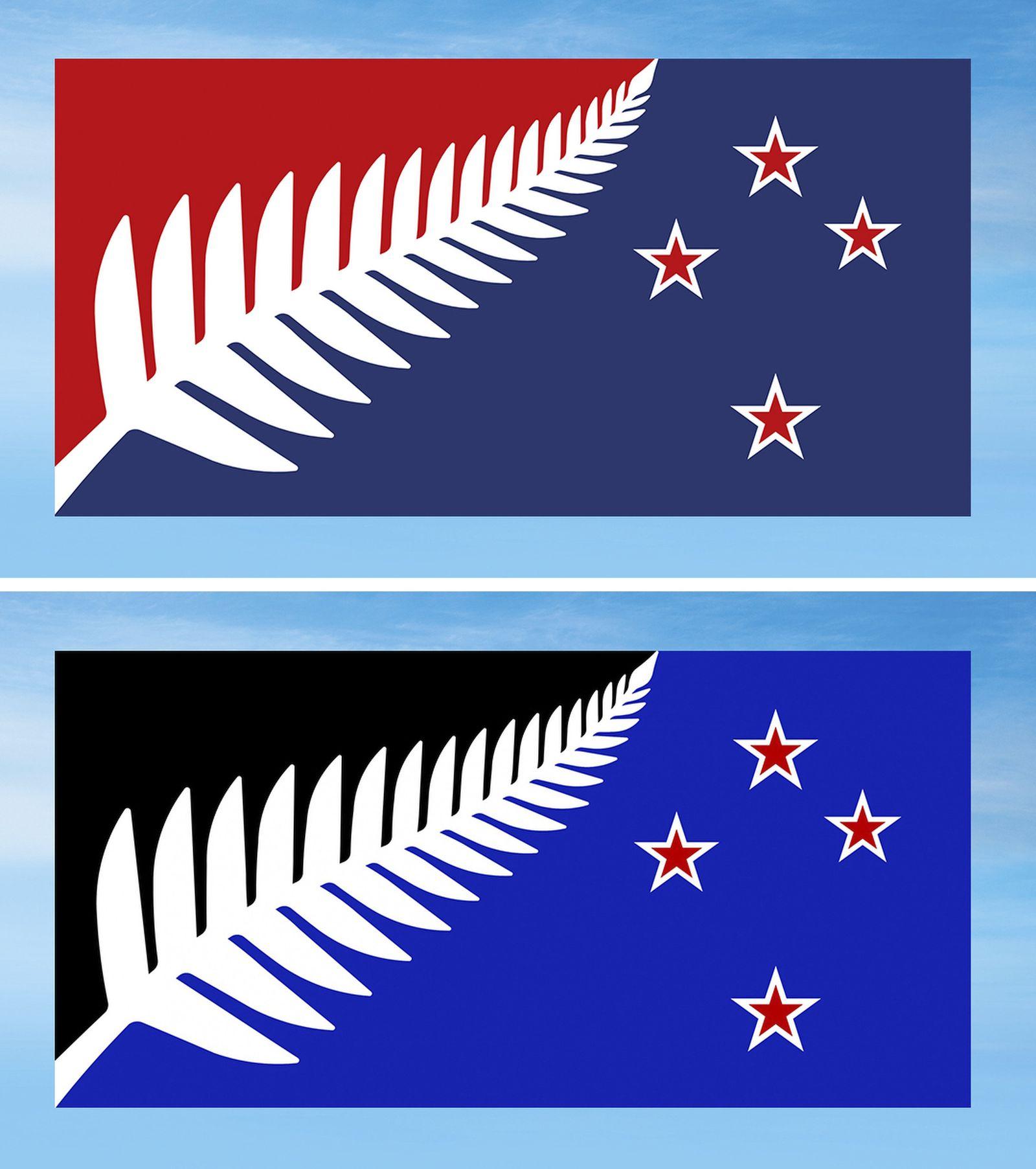 Neuseeland Flaggenentwürfe
