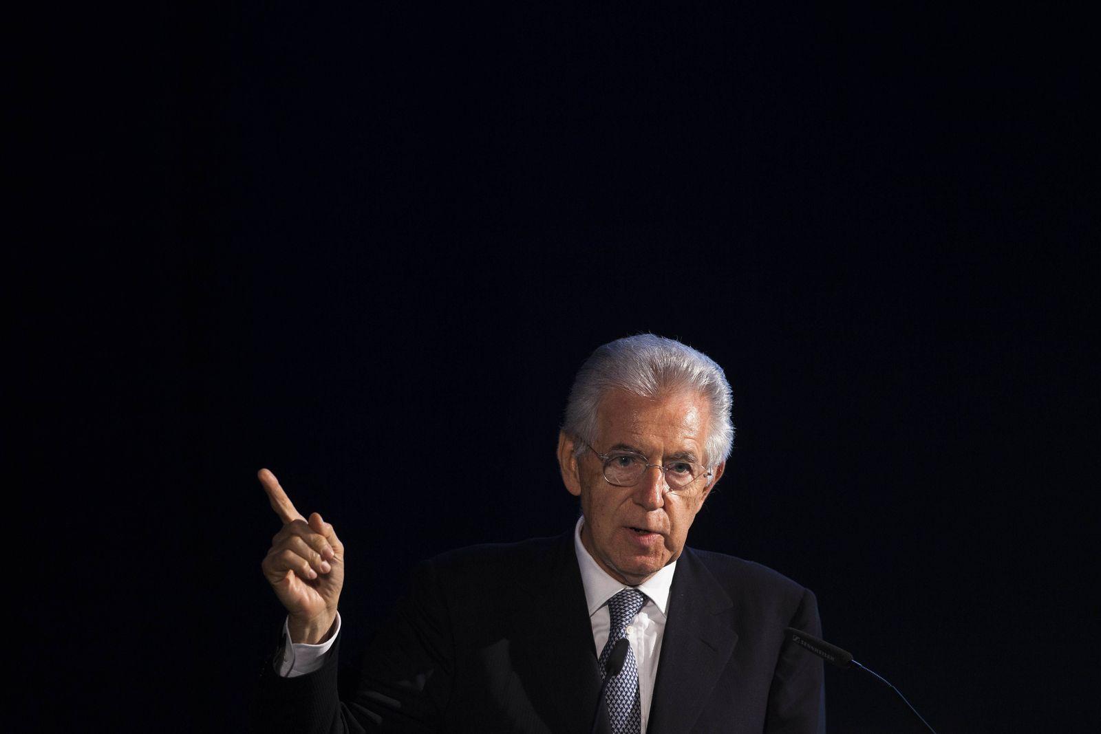 Germany Italy Europe Crisis Monti