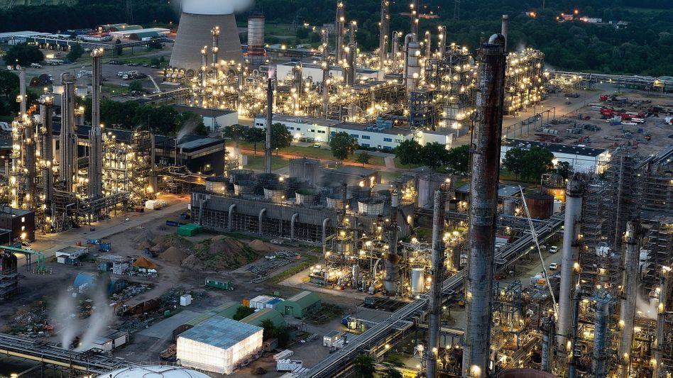 BP-Raffinerie in Gelsenkirchen: »Keine besonderen Wirkungen oder Gefahren bekannt«