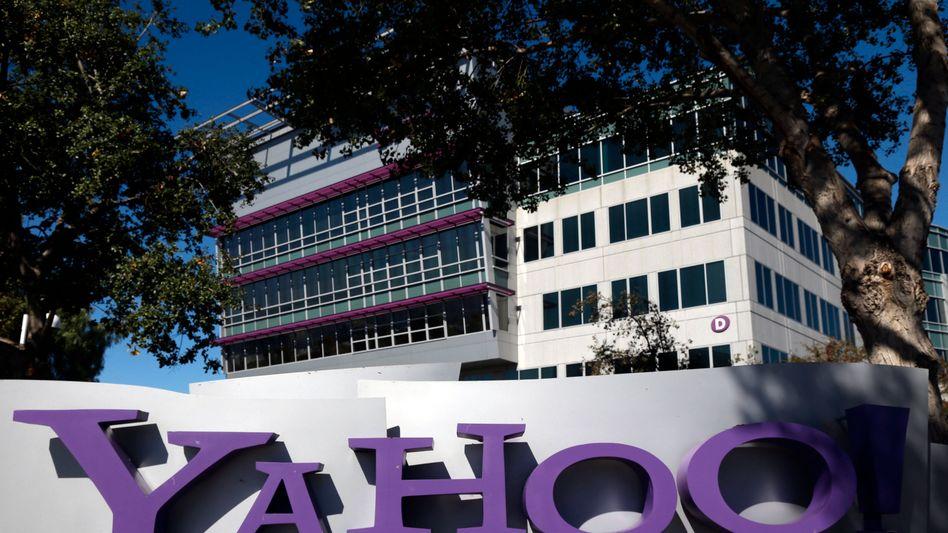 Yahoo-Zentrale in Sunnyvale: Etappensieg im Prism-Streit