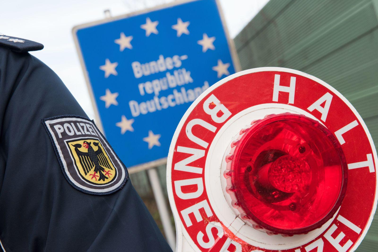 Bundespolizei/ Grenzkontrolle