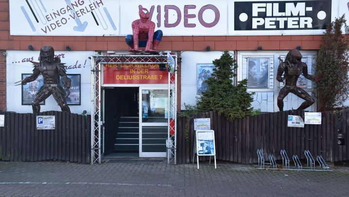 Fotostrecke: Die letzte Videothek in Kiel