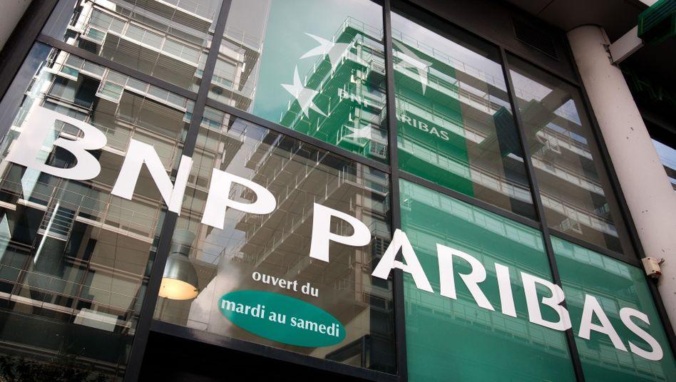 BNP Paribas in Paris: Rekordzahlung von bis zu neun Milliarden Dollar