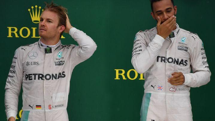 Teaminterne Formel-1-Duelle: Ohne Rücksicht auf Verluste