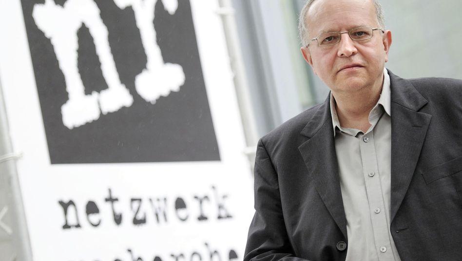 Thomas Leif, Ex-Vorsitzender des Netzwerks Recherche: zu mächtig?