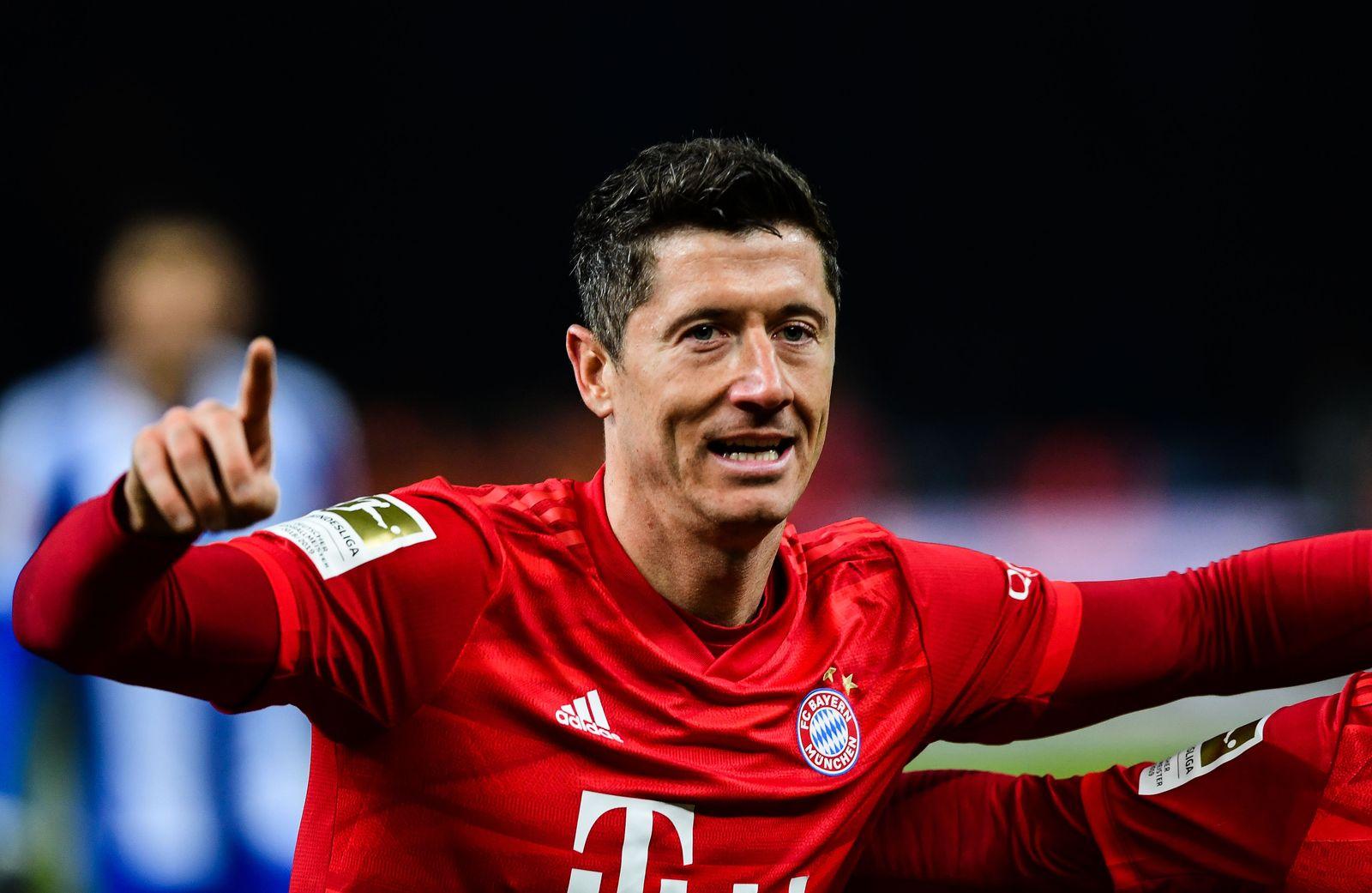 Hertha BSC vs FC Bayern Munich, Berlin, Germany - 19 Jan 2020