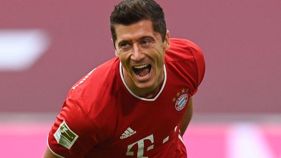 Bayern-Angreifer Lewandowski: Saisontore acht, neun und zehn
