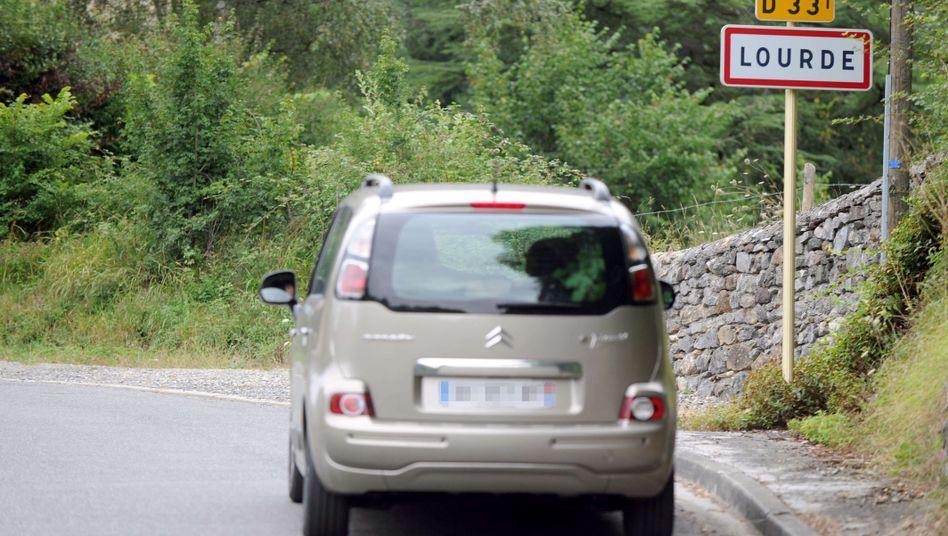 Französisches Dorf Lourde: Hier landen dank falscher GPS-Programmierung viele Pilger