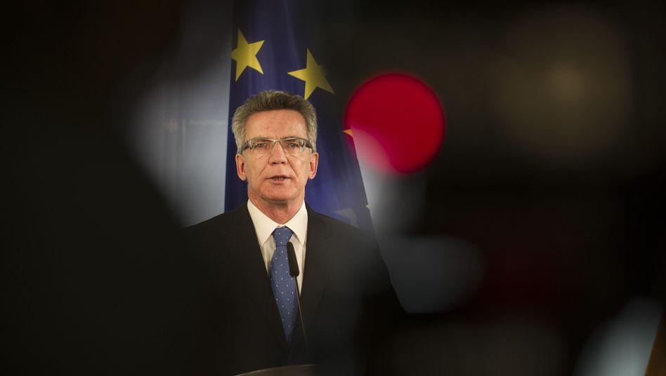 """Türkisch-syrische Grenze: DeMaizière erwartet Bundestagsmandat für """"Patriot""""-Einsatz"""