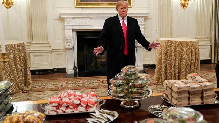"""Wegen des """"Shutdowns"""": Burger? Gehen auf Trump"""