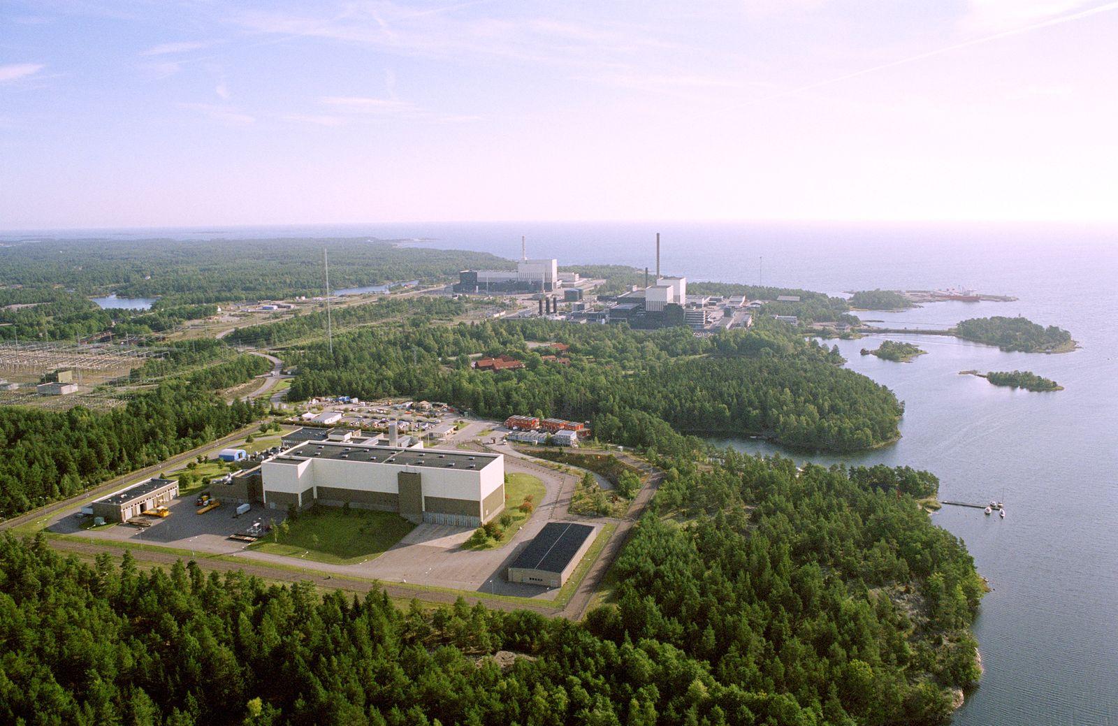 EINMALIGE VERWENDUNG Zukunftsarchäologie / Atomindustrie / WISSENSCHAFT