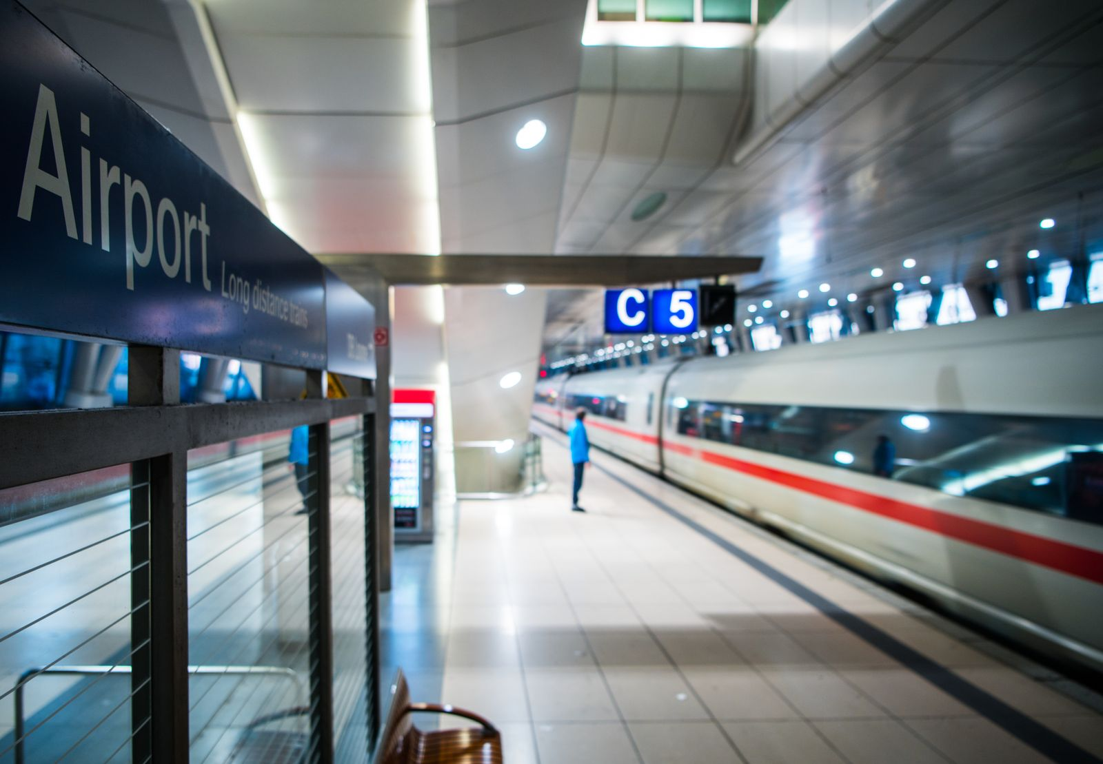 Bahnhof / Frankfurt Main Flughafen / Symbol