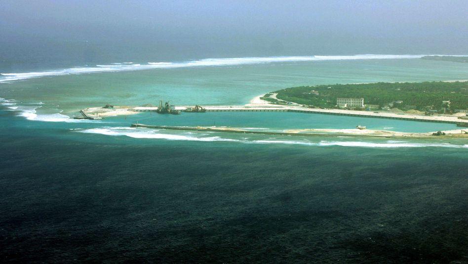 Woody Island, eine der Paracel-Inseln