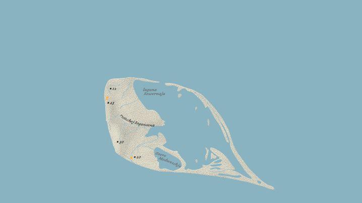 """""""Atlas der abgelegenen Inseln"""": Steinhaufen im Ozean"""
