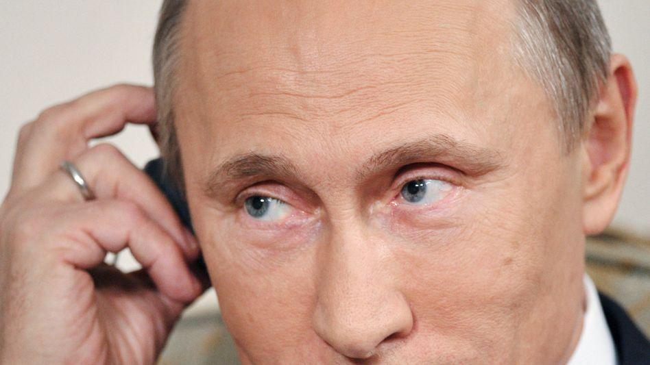 """Wladimir Putin beim ARD-Interview: """"Bedeutende Geschäftsabschlüsse"""""""