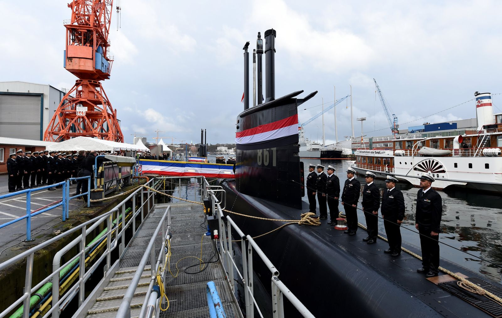 ThyssenKrupp/ U-Boot/ Ägypten