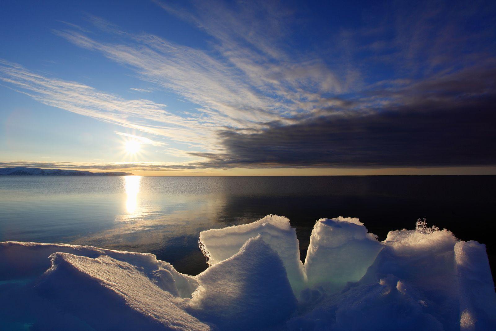 NICHT MEHR VERWENDEN! - Arktis / Eis / Klima