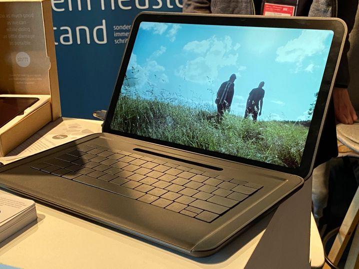Projekt für 2021: Ein Shift-Notebook mit abnehmbarer Tastatur