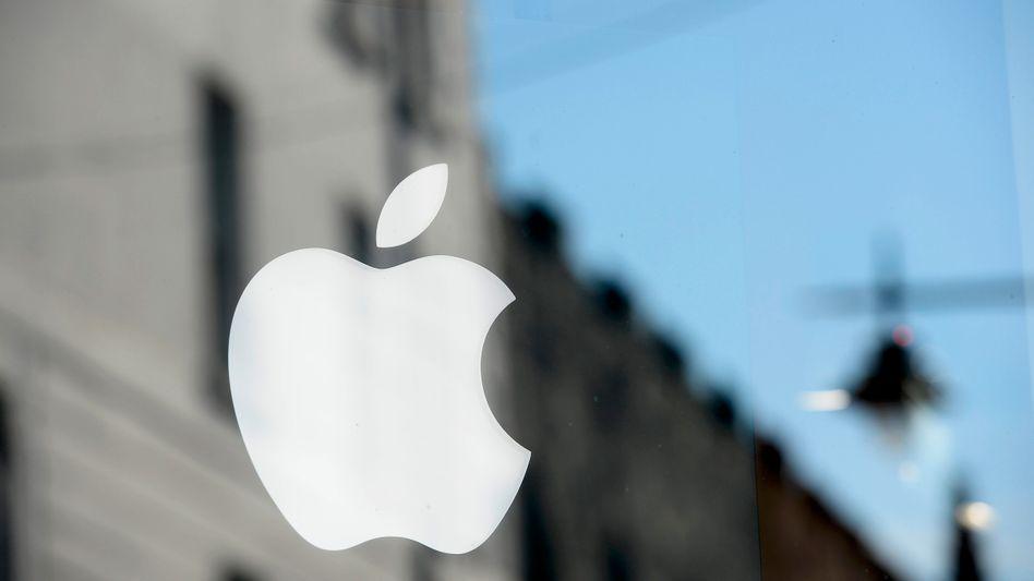 Apple-Logo in Irland
