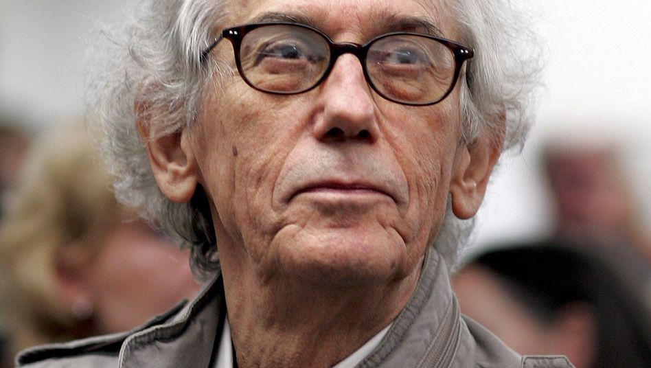 US-Künstler Christo: Auch an Fotos zu seinen Kunstaktionen hält er die Rechte