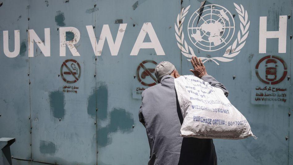 Einrichtung des Palästinenserhilfswerkes UNRWA