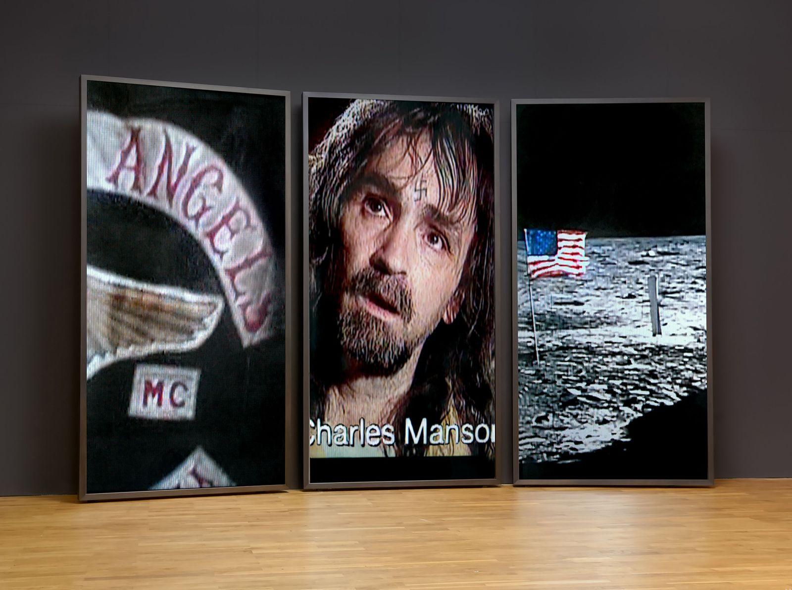 EINMALIGE VERWENDUNG Charles Manson/ Sampler/ Stefan Hunstein: 69
