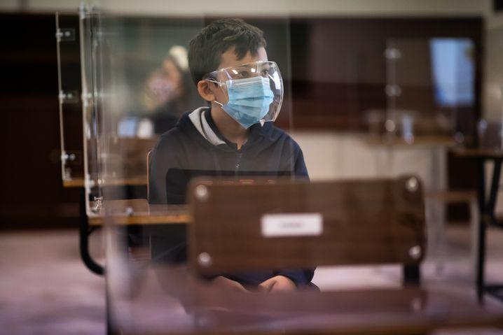 Unter Einhaltung strenger Schutzmaßnahmen sind die Schulen in Mexiko nun wieder geöffnet