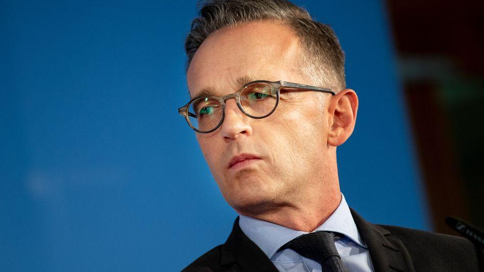 """Heiko Maas: """"Es geht auch um das Vertrauen in die deutsche Außenpolitik"""""""