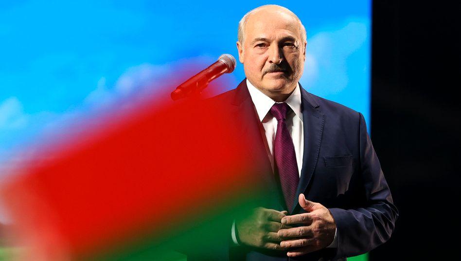 Belarussischer Staatschef Alexander Lukaschenko
