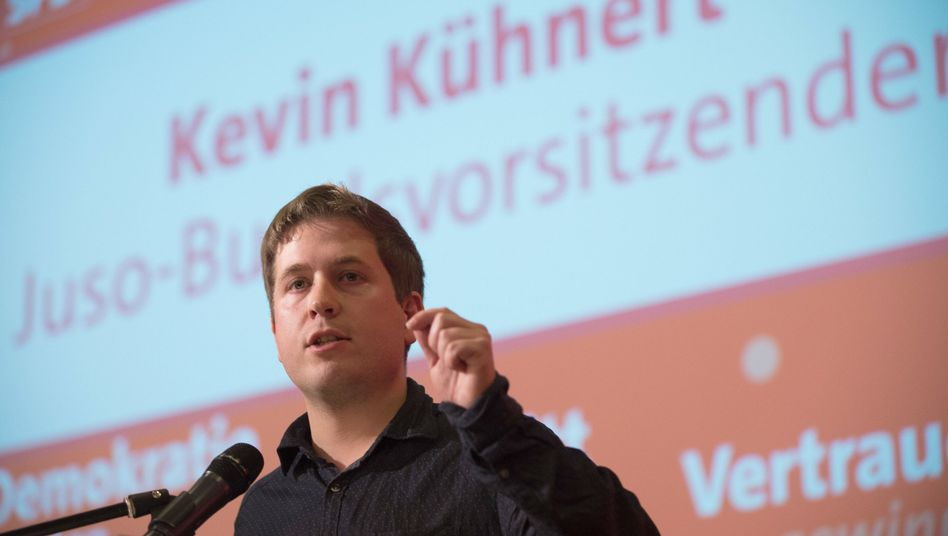 Juso-Chef Kevin Kühnert