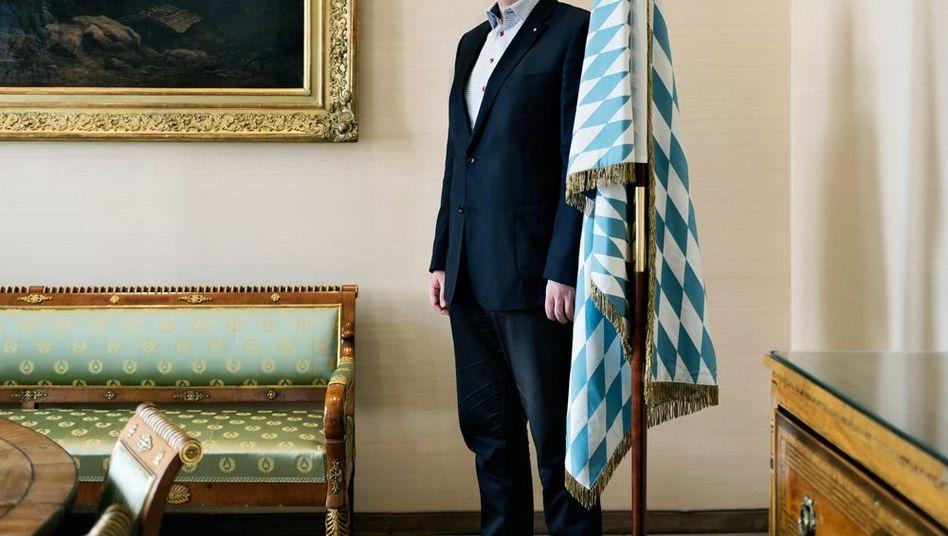 """Heimatpolitiker Söder: """"Ich bin der Markus, hier bin i dahoam, und da will ich auch bleiben"""""""