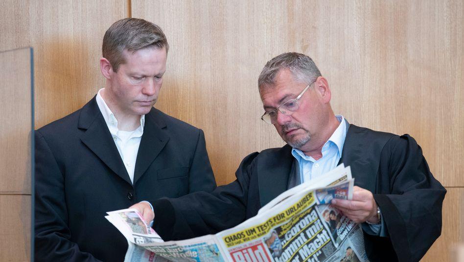Zerrüttetes Vertrauensverhältnis: Stephan Ernst und Frank Hannig im Juli 2020