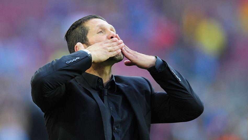 """Atlético-Coach Simeone: """"Da müssen wir wieder hin"""""""