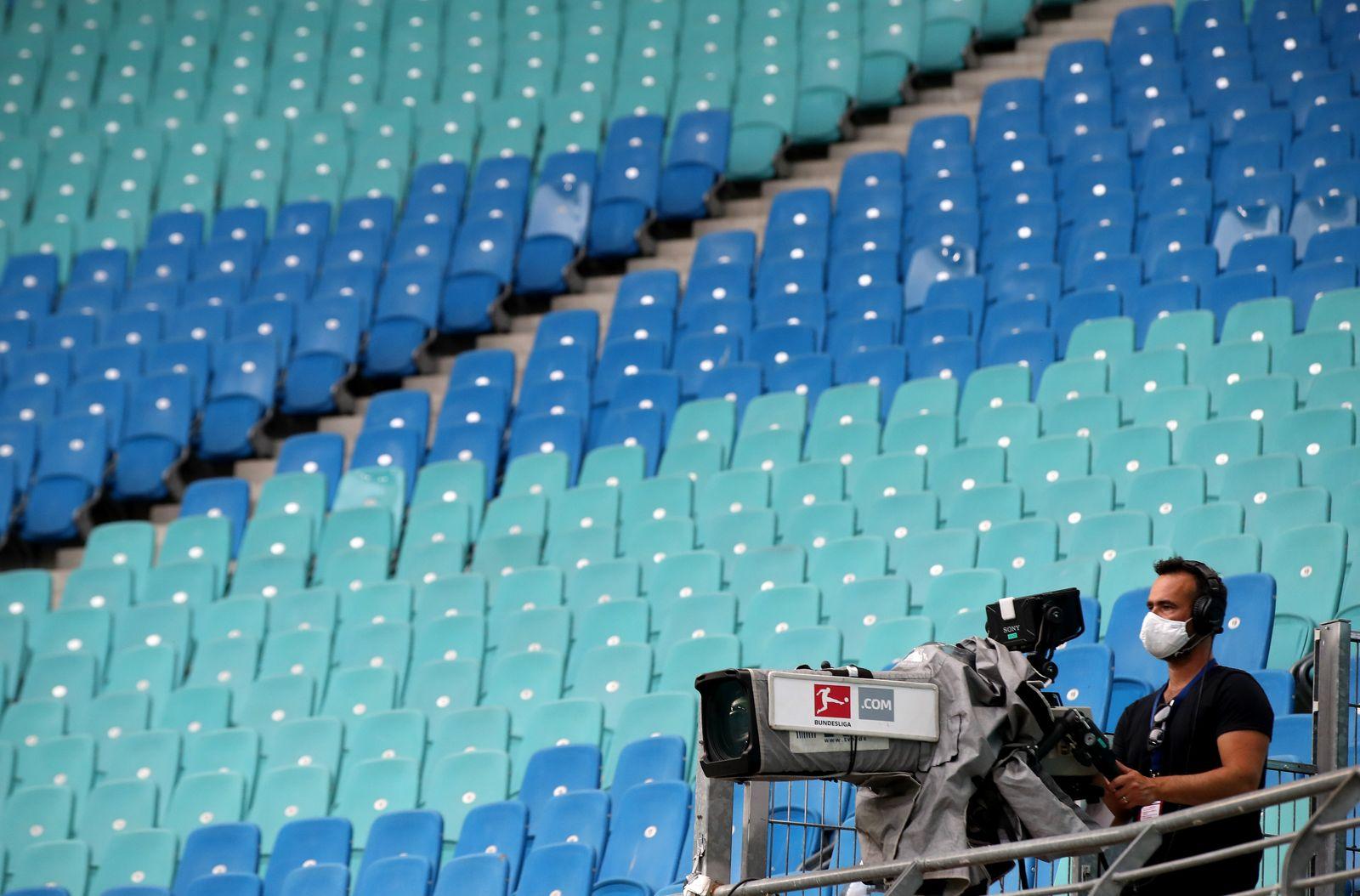 RB Leipzig vs Fortuna Duesseldorf, Germany - 17 Jun 2020