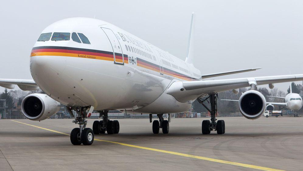 """Konrad Adenauer"": Merkels Air Force One"