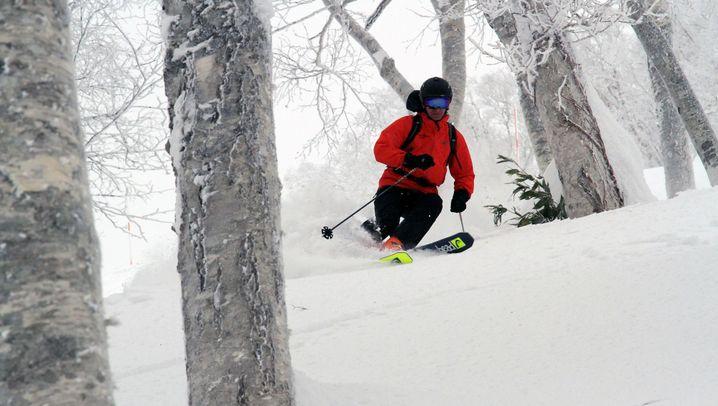 Skilaufen auf Hokkaido: Pulverschnee am Vulkan