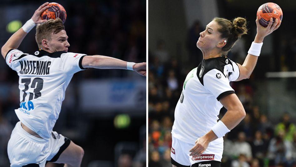 Handballer und Handballerin des Jahres Kastening und Bölk: Sie sind die Zukunft ihres Sports