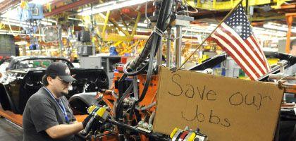 """Mitarbeiter bei GM in Kentucky: Obama warnt vor """"grässlichen Konsequenzen"""""""