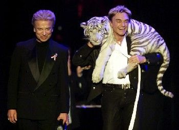 Reich durch ihre Tiger-Shows: Siegfried (l.) und Roy